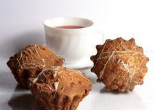 Free Cake Tea Royalty Free Stock Photos - 29357178