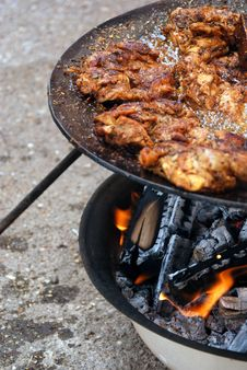 Free Village Grilling Royalty Free Stock Photography - 29359337
