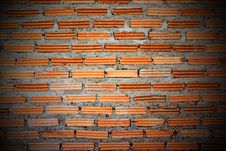 Free Red Brick Wall. Royalty Free Stock Photo - 29359805