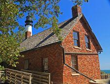 Biscayne Lighthouse Stock Photos