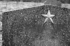 Free Unknown Soviet Soldier Headstone Royalty Free Stock Image - 29364366