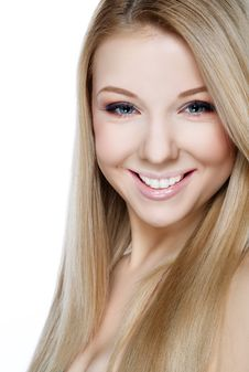 Free Beautiful Smiling Blonde Royalty Free Stock Images - 29364459