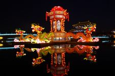 Free New Year Lantern Show The Dragon Totem Stock Photo - 29364500
