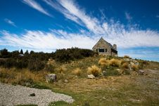 Free Church Of The Good Shepherd In Tekapo Stock Images - 29364734