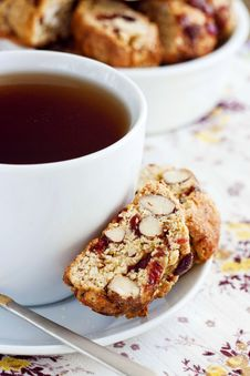 Free Almond And Cranberries Biscotti Stock Photos - 29368693
