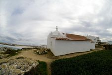 Free Small Chapel On A Cliff, Baleal, Portugal 2 Royalty Free Stock Photography - 29369137