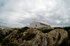 Free Small Chapel On A Cliff, Baleal, Portugal Stock Images - 29369174
