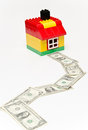 Free House And Money Road. Royalty Free Stock Photography - 29379537