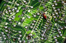 Free Electronic Circuit Stock Photo - 29370310