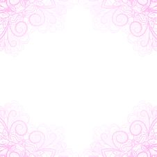Free Light Pink Corners Royalty Free Stock Images - 29378879