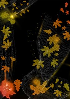 Free Abstract Autumn Background. Royalty Free Stock Photography - 29379377