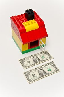 Free House And Money Stock Images - 29379444