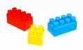 Free Building Blocks White Isolated Stock Image - 29389501