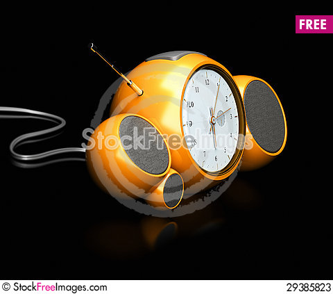 Free Waking Up With An Alarm Clock Stock Photos - 29385823