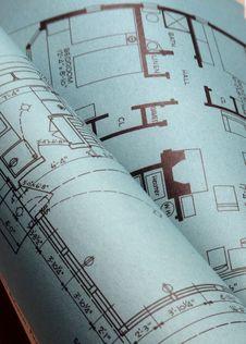 Free Blueprints Stock Photo - 29389440