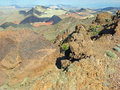 Free View Pinto Valley From The Hamblin Peak Near Lake Mead, Nevada. Stock Image - 29391361