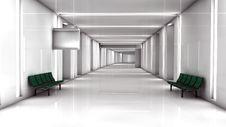 Free Futuristic Interior Royalty Free Stock Photos - 29391238