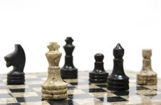 Free Chess Game Royalty Free Stock Photography - 29393707