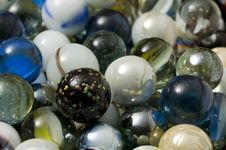 Free Closeup Marbles Background Royalty Free Stock Photos - 29393708
