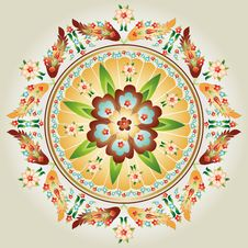 Free Oriental Pattern And Ornaments 03 Royalty Free Stock Image - 29399486