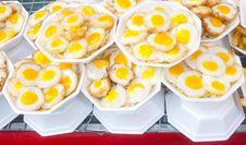 Free Fried Quails Egg. Stock Photography - 29399552