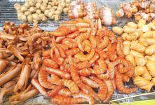 Skewers Food Royalty Free Stock Photos