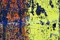 Free Grunge Painted Brick Wall Royalty Free Stock Image - 2942276
