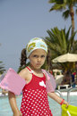 Free Child By Pool Royalty Free Stock Photos - 2942278