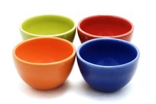 Free Colorful Cups Royalty Free Stock Photo - 2940205