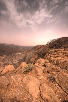 Atlas Mountains In Morocco Royalty Free Stock Photos