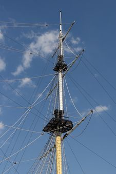 Free Mast Of Ship Royalty Free Stock Image - 2941986