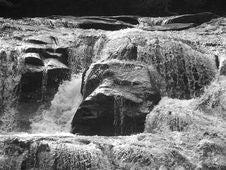 Free Dicks Creek Water Fall 1 Stock Image - 2942161