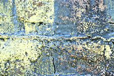 Free Grunge Painted Brick Wall Stock Images - 2942404