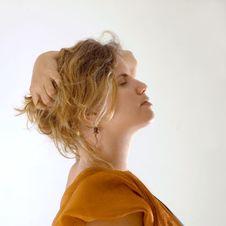 Free Blond Woman Headshot Royalty Free Stock Image - 2943496