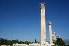 Free Temple Of Zeus, Athens Stock Photos - 2943973