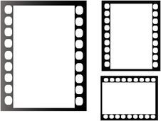 Free Straight Filmstrip Vector Royalty Free Stock Image - 2944446