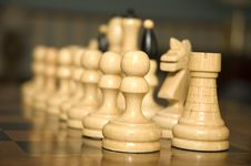 Free Chess Figurines Royalty Free Stock Images - 2944529