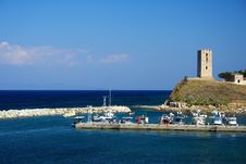 Free Greek Port Royalty Free Stock Images - 2944749
