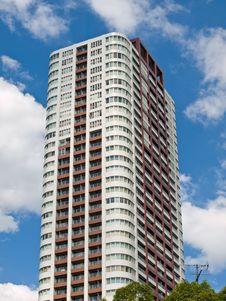 Osaka Highrise Royalty Free Stock Image