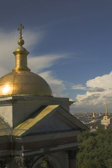 Free Dome Of A Temple Stock Photos - 2946313