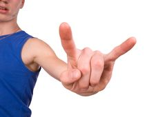 Free Gesture Stock Photo - 2946840