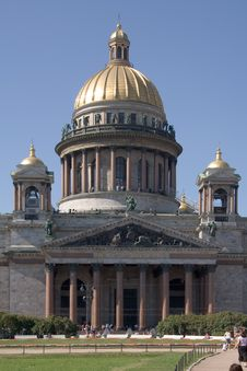 Free St.Isaak Cathedral Royalty Free Stock Photos - 2947088