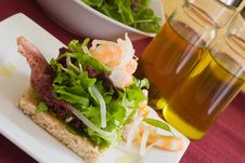 Free Prawn Salad Royalty Free Stock Image - 2947236