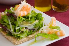 Free Prawn Salad Royalty Free Stock Photos - 2947388