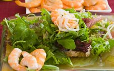Free Prawn Salad Stock Images - 2947394