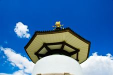 Free Peace Pagoda Royalty Free Stock Photo - 2948065
