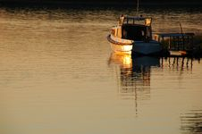 Free Boat On The River Royalty Free Stock Photo - 2948245