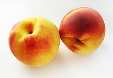 Free Peach Duet Royalty Free Stock Image - 2948626