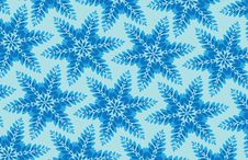 Free Chilly Snowflake Background Royalty Free Stock Photo - 2948765
