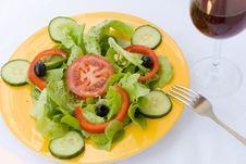 Free Fresh  Salad,croutons,lettu Stock Photography - 2948842